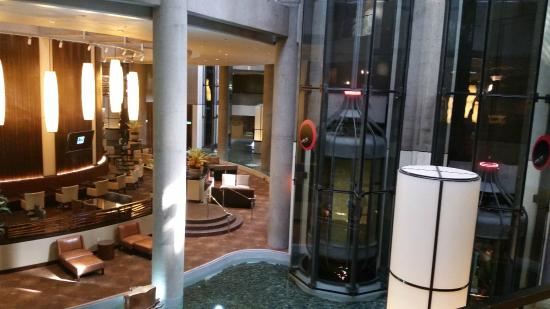 Glass Elevators On The Outside Picture Of The Westin
