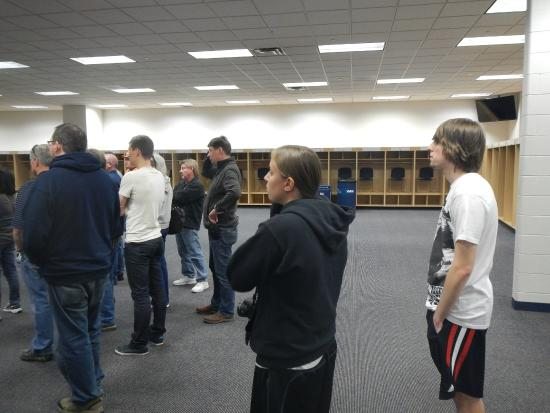 Visitors locker room - Picture of Sports Authority Field at