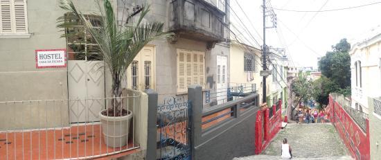 Hostel Casa da Escada: entrada