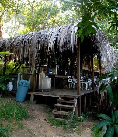 Cocos Camp: Kitchen area