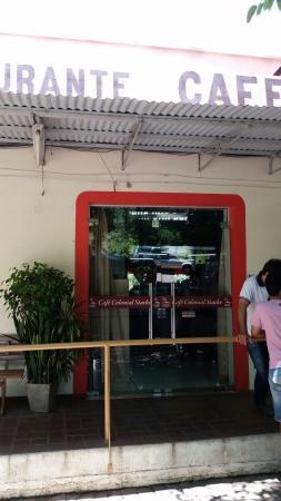 Restaurante E Cafe Colonial Stacke: Entrada