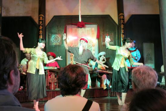 Traditional Theater: Hoi An theatre