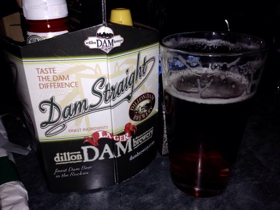 Dillon Dam Brewery: Extra Pale Ale.