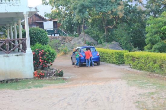 Dahod, Indien: Good parking space