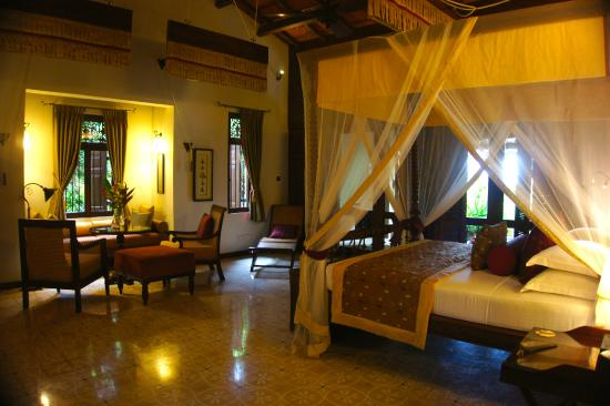 Reef Villa & Spa: The main bedroom