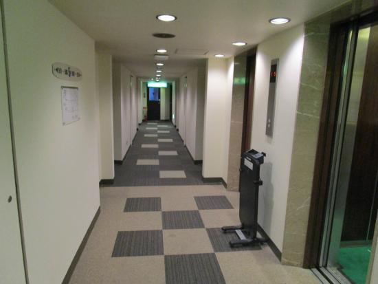 Hotel Econo Kanazawa Ekimae: リニューアルされている廊下