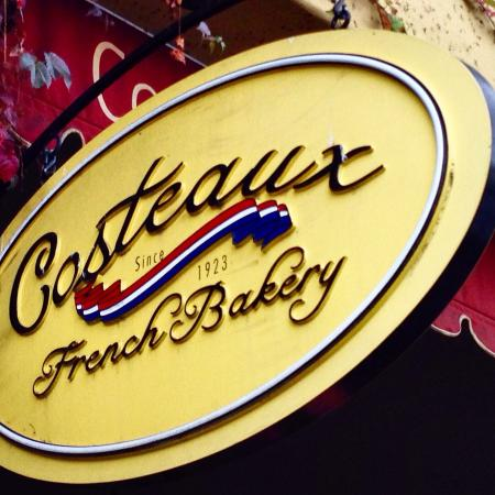 Costeaux French Bakery: Sign