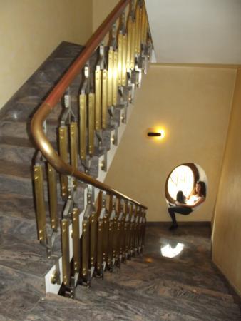 Valentino Hotel: The stairwell