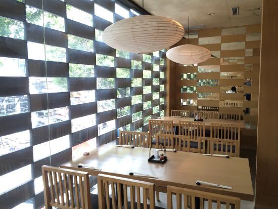 SAKE+: Wooden interior