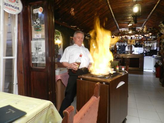 Mi Vaca: Flambiertes Steak