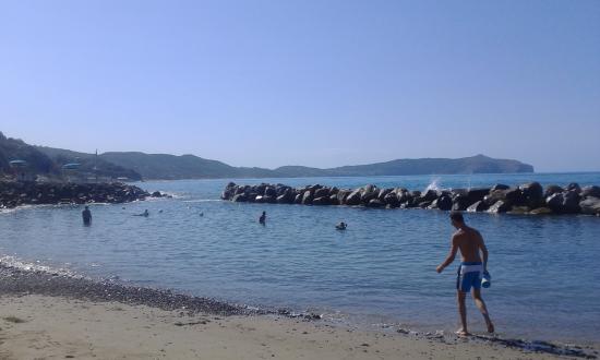 Villaggio Camping Costa del Mito: Spiaggia di pisciotta costa del mito