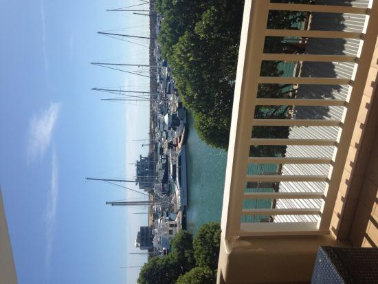 The Marina Hotel: The view