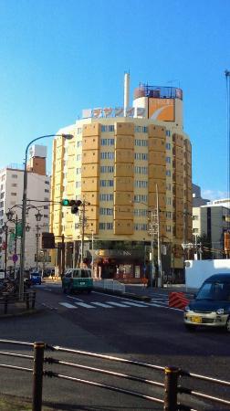 Chisun Inn Nagoya: ホテルの外観