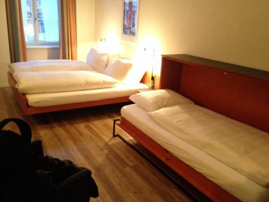 Altstadt Hotel Krone Luzern: Rooms for 3pax