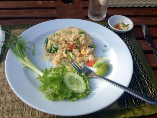 Baan Taranya Resort: Asian breakfast choice - chicken and rice. Really miss this simple but delicious dish since gett