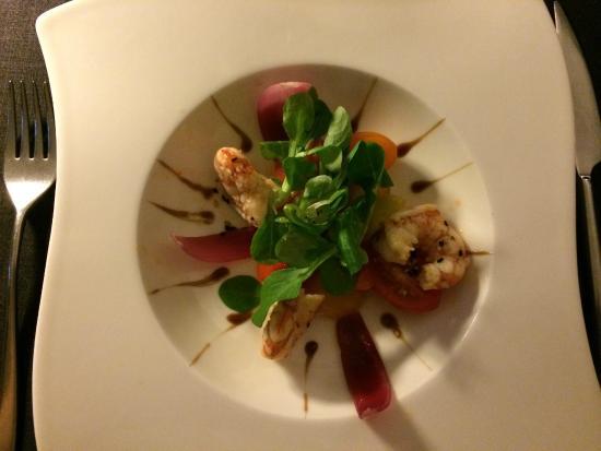 Fragata : La mejor ensalada de langostinos que he probado en años