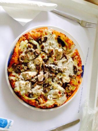 Novotel Accra City Centre : Room service pizza