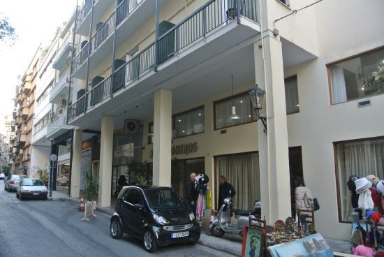 Omiros Hotel : Вход в отель
