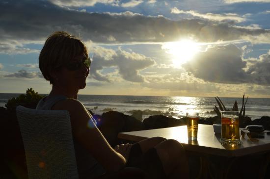 Restaurante El Caleton : Aperitivo in riva al mare
