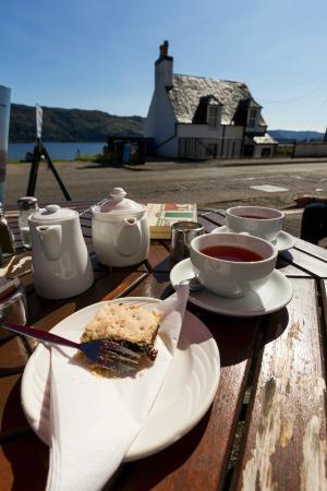 Waterside cafe : Tavolo all'esterno del Waterside