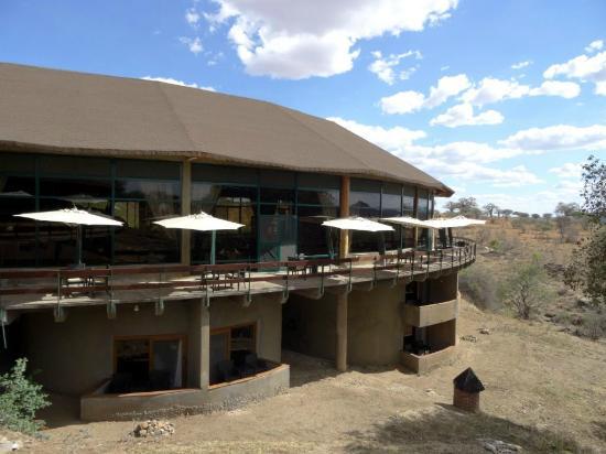 Tarangire Sopa Lodge: terras