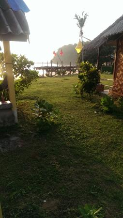 Klong Jark Bungalows : view from our bungalow