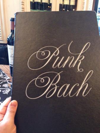 Punk Bach: Carta de gran tamaño