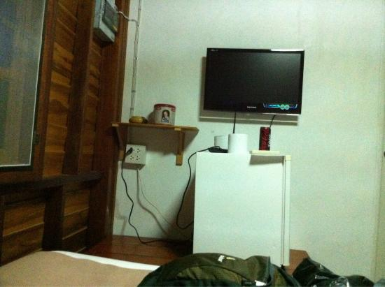 Nice Moon Resort: TV & Fridge