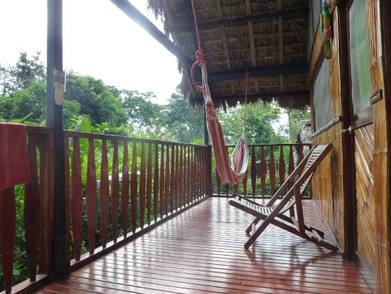 Yacuma Ecolodge : Our balcony