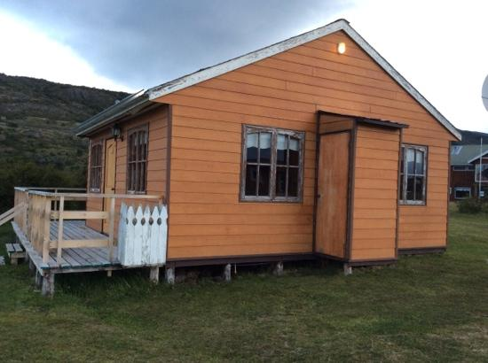 Hotel Lago Tyndall: nuestra cabaña