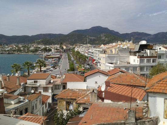 A view towards Icmeler - Picture of Marmaris Museum ...