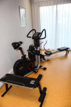 Nemea Appart'hotel Residence Saint-Martin : Salle fitness
