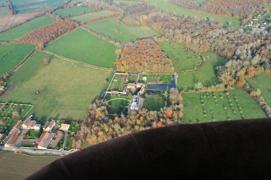 Montgolfieres de Falaise : les belles demeures du Calvados