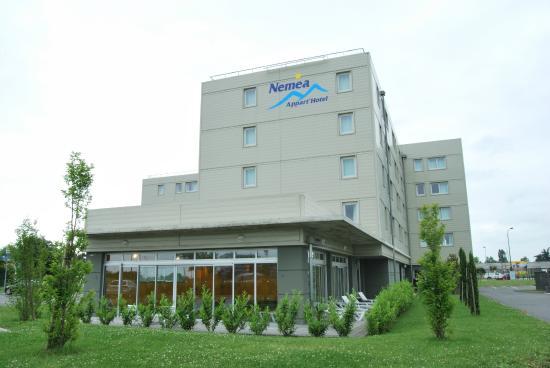 Nemea Appart'hotel Residence Saint-Martin : Façade