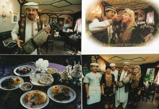 Sis ll ripaus silkkitien mystisyytt kuva aryana for Aryana afghan cuisine
