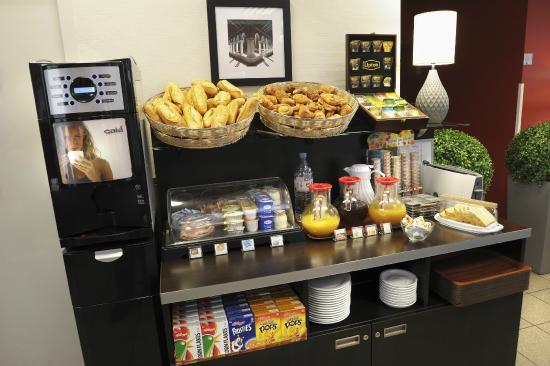 Nemea Appart'hotel Residence Saint-Martin : Petit déjeuner
