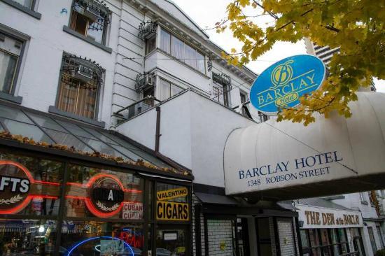 Barclay Hotel: 外観