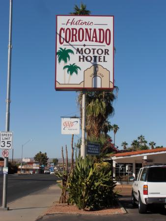 Niet te missen picture of coronado motor hotel for Best western coronado motor hotel yuma az