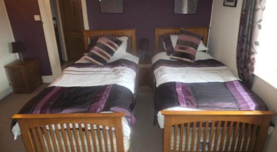 The Swan Inn: Twin room
