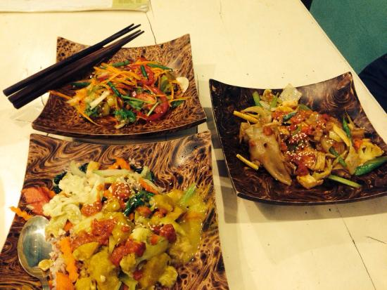 Great vegetarian dishes!!
