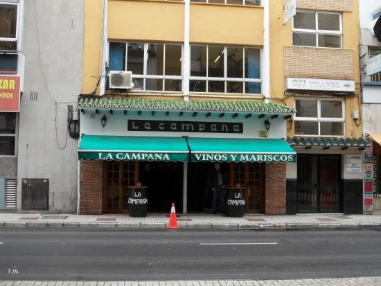 La Campana: Hier gingen wij naar binnen .