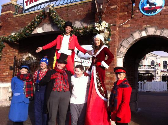 Tamworth, UK: The fat controller and Team ! The F.C DOES A GREAT JOB