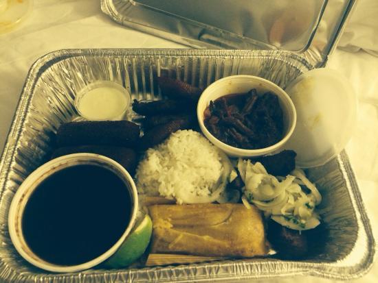 Casa Juan Restaurant : To Go Platter