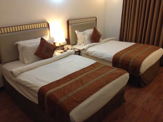 Hotel Nami Residency: Comfortable beds
