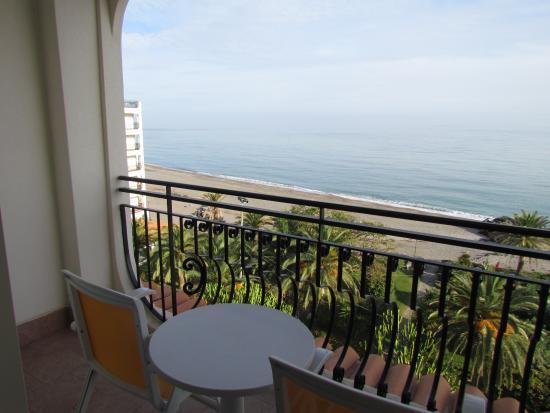 Hilton Giardini Naxos: our balcony