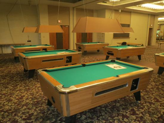 Midland Resort & Convention Center: Pool Tournament Weekend 1