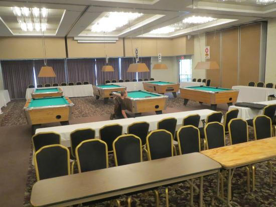 Midland Resort & Convention Center: Pool Tournament Viewing Seating