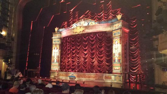 A Gentleman S Guide To Love Walter Kerr Theatre View From Orchestra Seats Row