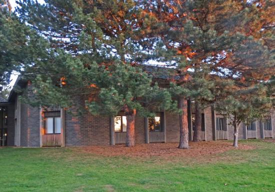 Sawmill Creek Resort : Exterior amid the pines