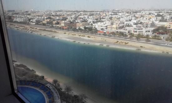 Novotel Abu Dhabi Gate: View from the room